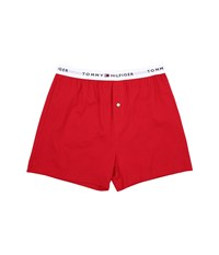 Tommy Hilfiger Athletic Knit Boxer Mahogany Men's Underwear