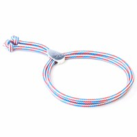 Anchor And Crew Project Rwb Red White And Blue Pembroke Rope Bracelet White Red Blue