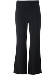 Helmut Lang Classic Flared Trousers Black