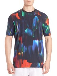 Y 3 All Over Print Jersey Tee Multi