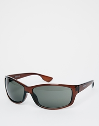 French Connection Fcuk Sports Sunglasses Brown