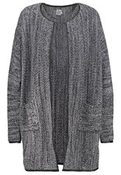 Saint Tropez Cardigan Grained Melange Light Grey