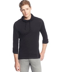 Inc International Concepts Funnel Neck Drawstring Hoodie Only At Macy's