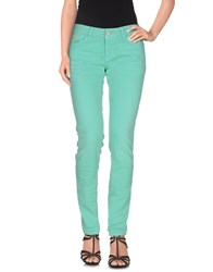 Meltin Pot Denim Denim Trousers Women Light Green
