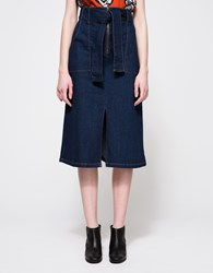 Finders Keepers Aerial Love Skirt Indigo