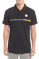 Nike Men's 'Elite Pittsburgh Steelers' Dri Fit Polo