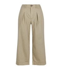Set Chino Culottes Female Beige