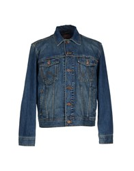 Wrangler Denim Denim Outerwear Men Blue