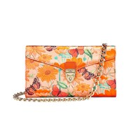 Aspinal Of London Manhattan Mini Clutch Orange