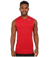 Nike Hypercool Fitted S L Gym Red Team Red White Men's Clothing