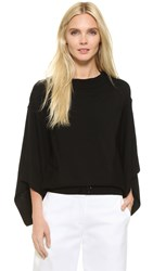 Kaufman Franco Long Sleeve Sweater Jet
