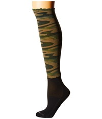 Bootights Gi Jane Darby Hunter Green Women's Crew Cut Socks Shoes
