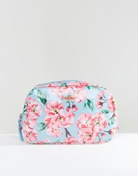 Cath Kidston Classic Box Make Up Case In Blossom Bunch Blossom Bunch Clear