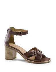 G.H. Bass Reese Leather Sandals Cafe