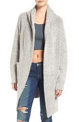 Blank Nyc Women's Blanknyc 'Textationship' Knit Hooded Cardigan