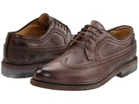 Frye James Wingtip Dark Brown Women's Lace Up Casual Shoes