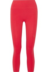 Lucas Hugh Technical Knit Stretch Leggings Red