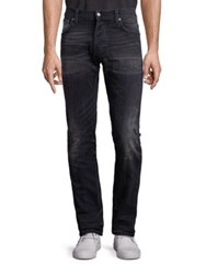 Nudie Jeans Distressed Straight Fit Henry Replica