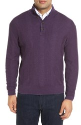 Robert Talbott Men's 'Legacy Collection' Mock Neck Wool Sweater