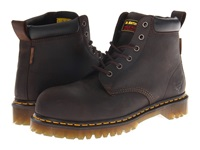 Dr. Martens Work Forge St 6 Eye Boot Gaucho Men's Lace Up Boots Brown