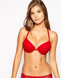 The Intimate Collection By Britney Spears Cherry Push Up Racer Back Bra Winterred
