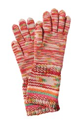 Missoni Wool Variegated Knit Gloves With Cashmere Multicolor
