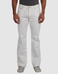 Dkny Jeans Denim Denim Trousers Men Ivory