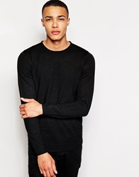 New Look Jumper With Crew Neck Black