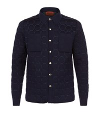 Missoni Circle Popper Jacket Male Navy