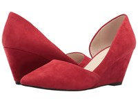 Kenneth Cole Ellis Rosso Women's Wedge Shoes Red