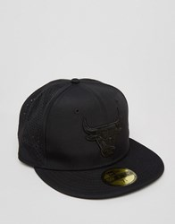 New Era 59 Fifty Cap Fitted Chicago Bulls Black