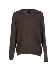 Boss Black Sweaters Dark Brown