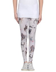 Happiness Trousers Leggings Women Light Grey