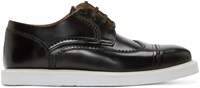 Kenzo Black Clevin Austerity Brogues