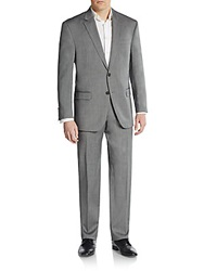 Lauren Ralph Lauren Regular Fit Herringbone Wool Suit
