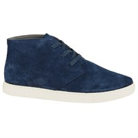 John Lewis Kin By Sean Suede Lace Up Chukka Boots Navy