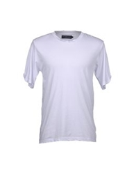 Hydrogen Short Sleeve T Shirts White