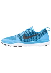 Nike Performance Free Train Versatility Sports Shoes Blue Glow Black White
