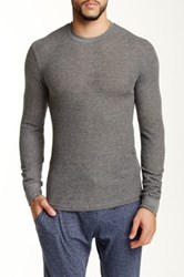 Bottoms Out Crew Neck Tee Gray