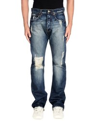 Bad Spirit Denim Denim Trousers Men Blue