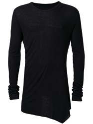 Julius Long Sleeve T Shirt Black