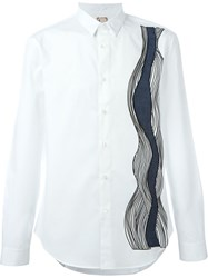 Antonio Marras Appliqua Shirt White