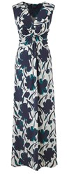 Grace Made In Britain Floral Maxi Green