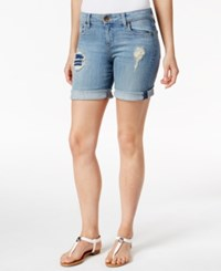 Kut From The Kloth Catherine Cuffed Hem Boyfriend Denim Shorts Vow