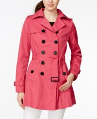 Bar Iii Double Breasted Skirted Trench Coat Only At Macy's