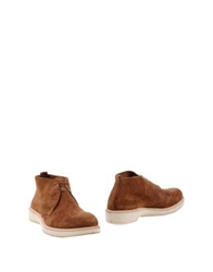 Rocco P. High Top Dress Shoes Brown