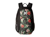Hurley One And Only Printed Backpack Black Multi White Backpack Bags