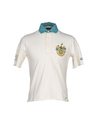 Canterbury Of New Zealand Polo Shirts Ivory