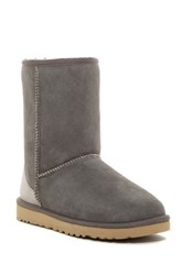Ugg Classic Short Serape Genuine Shearling Boot Gray