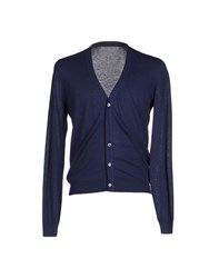 Malo Knitwear Cardigans Men Dark Blue